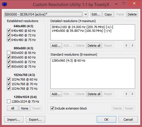 Enable 4k Resolution with ATI HD 5770 and Seiki 39″ SE39U04